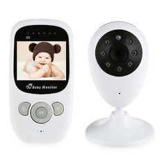Wireless Infant Radio Babysitter Digital Video Camera Baby Sleeping Monitor Audio Night Vision Temperature Display Radio Nanny (32698273401)  SEE MORE  #SuperDeals