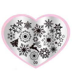 Superior Hot Christmas Snowflake DIY Nail Art Image Stamp Stamping Plates Manicure Template Sep 23 #>=#>=#>=#>=#> Click on the pin to check out discount price, color, size, shipping, etc. Save and like it!