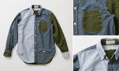 J.S.Homestead × KAPTAIN SUNSHINE Polo Collar L/S Shirt