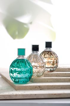 Jimmy Choo EXOTIC Eau de Toilette, Jimmy Choo Eau de Parfum Natural Spray, and Jimmy Choo Limited Edition Stars Eau de Parfum. Pick one as a perfect gift for her.