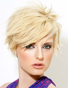 Trendy hairstyles to try in Photo galleries for short hairstyles, medium hairstyles and long hairstyles. Hairstyles for women over Hairstyles for straight, curly and wavy hair. Short Punk Hair, Shaggy Short Hair, Funky Short Hair, Super Short Hair, Edgy Hair, Short Hair Cuts For Women, Short Haircut, Haircut Styles, Short Hairstyles 2015