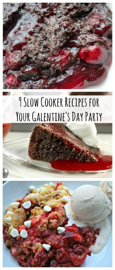 9 Slow Cooker Recipes for Your Galentine's Day Party | These Valentine's Day recipes are perfect for sharing with your BFF!