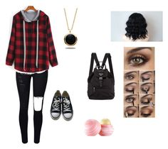 Untitled #2 by dbcrescent on Polyvore featuring polyvore, fashion, style, Converse, Marlin Birna, Eos and clothing