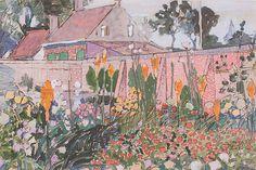 Jan Toorop, Huisje met tuin te Domburg - 1903