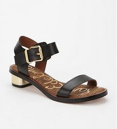 Simple go-with-everything Sam Edelman sandals ($99, http://www.urbanoutfitters.com/urban/catalog/productdetail.jsp?id=24185340&color=001&itemdescription=true&navAction=jump&search=true&isProduct=true&parentid=W_SHOES_ALLSHOES_SANDALS)