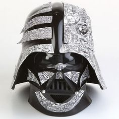 24 Artistically Modified Vader Helmets #starwars