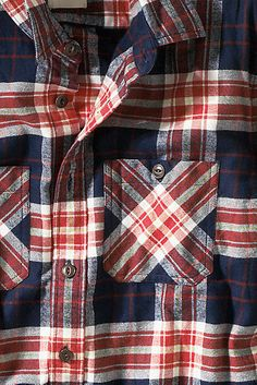 Men's Flannel Workshirt from Lands' End Canvas
