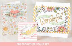 Stampin' Up! Photopolymer Stamp Set