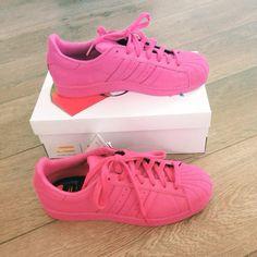 Adidas Originals Superstar meets Pharrel Williams... Love these pink ones!!