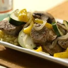 Garlic Chicken Sausage and Summer Vegetable Saute - Allrecipes.com