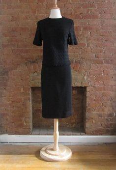Vintage Kimberly Knits Skirt Set  1960s ...