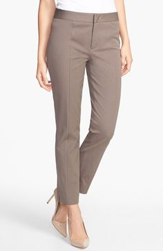 NYDJ Two-Way Stretch Ankle Straight Leg Pants (Regular & Petite) available at #Nordstrom 110.00