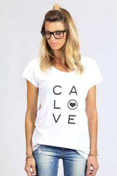 Salt and Pepper Tees  White Graphic Tee - California Love Soft vintage tshirt