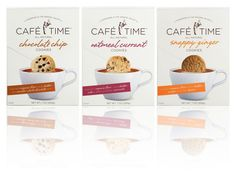 Cafe Time Cookie Branding & Packaging