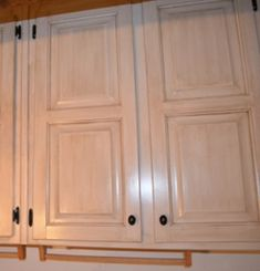 I like this shade of white for the kitchen cabinets.