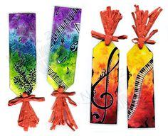Music Bookmarks by Natoli.deviantart.com