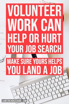 Volunteer work can help or hurt your job search. Here's how to make sure your volunteer experience helps you land a job. Resume Work, Resume Layout, Simple Resume, Resume Design, Resume Writing Tips, Resume Tips, Cover Letter Tips, Cover Letters, Craft Business