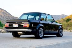 1974 BMW 2002tii Turbo rear quarter