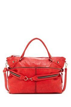 Whipstitched Handbag