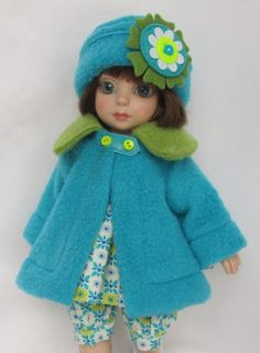 """PATSY'S WINTERTIME BLUES! FOR 10""""ANN ESTELLE, ETC.MADE BY SSDESIGNS"""