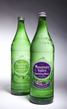 Mountain Valley Sparkling Essences in Blackberry Pomegranate and Sparkling Lime! help@mountainvalleyspring.com for information about home delivery. Great alternative to a carbonated soft drink or alcoholic beverage Alcoholic Drinks, Beverages, Old Logo, Spring Water, Pomegranate, Cleaning Supplies, Lime, Healthy Eating, Soft Drink