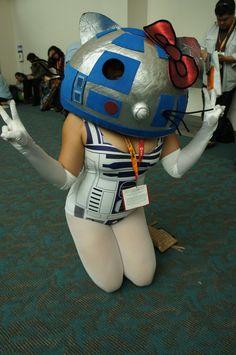 Hello Kitty R2-D2!!