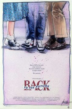 Are they kissing? If so, why is Marty disappearing anyway? Does George have to pee? SO. MANY. QUESTIONS. | 9 Baffling First Drafts of Classic Movie Posters | Cracked.com