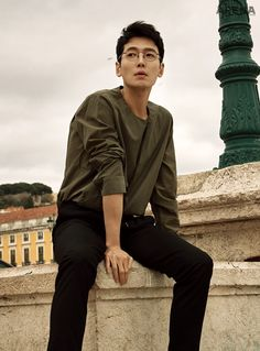 Jung Kyung Ho in Arena Homme Plus Korea March 2018 Korean Star, Korean Men, Asian Men, Asian Actors, Korean Actors, Choi Jin, Kdrama Actors, Pretty Men, Korean Celebrities