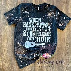 This custom made bleached style shirt is so trendy and cute. Bella Canvas airlume combed and ringspun cotton, polyesterVinyl *Shirts are bleached and no two shirts are the same. Baby Shirts, Shirts For Girls, Cool T Shirts, Bleach Dye Shirts, Cute Shirt Designs, Vinyl Shirts, Johnny Cash, Personalized T Shirts, Shirts With Sayings
