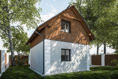 DOM.PL™ - Projekt domu KP G320 - Budynek rekreacji indywidualnej CE - DOM KT4-53 - gotowy koszt budowy Home Fashion, Shed, Outdoor Structures, House Styles, Backyard Sheds, Coops, Barns, Tool Storage, Barn