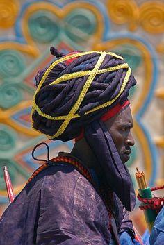Hausa man - Kano Durbar Festival, Nigeria