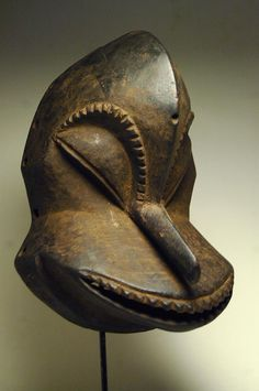 Africa   Mask from the Hemba people of DR Congo   Wood   20th century