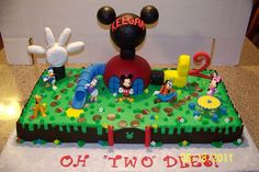 mickey mouse birthday party ideas | Mickey Mouse Club House