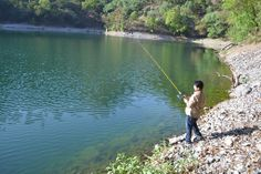 Angling at Pannatal, Uttarakhand, India