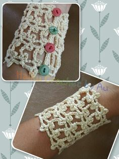 Sweet bracelet made by me ^^
