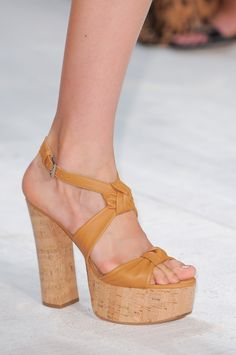 From the Michael Kors Spring 2014 runway show. Photo: ImaxTree.