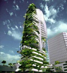 mijn droom: groene steden