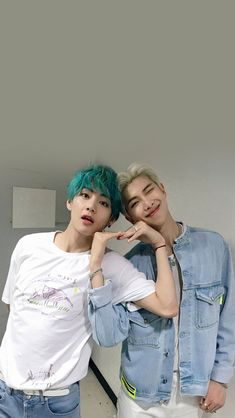 Taehyung and Namjoon BTS picture! Jung Hoseok, Kim Namjoon, Bts Taehyung, Bts Bangtan Boy, Seokjin, Jimin, Rapmon, Foto Bts, Bts Photo