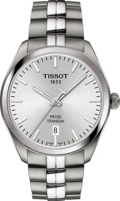 Tissot Watch PR100 #add-content #bezel-fixed #bracelet-strap-titanium #brand-tissot #case-depth-9mm #case-material-titanium #case-width-39mm #date-yes #delivery-timescale-call-us #dial-colour-silver #discount-code-allow #gender-mens #luxury #movement-quartz-battery #new-product-yes #official-stockist-for-tissot-watches #packaging-tissot-watch-packaging #style-dress #subcat-pr100-prc100 #supplier-model-no-t1014104403100 #warranty-tissot-official-2-year-guarantee #water-resistant-100m