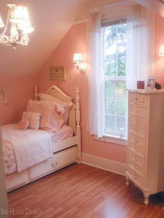 Farmhouse Renovation, Farmhouse Remodel, Home Renovation, Farmhouse Interior, Girl Room, Girls Bedroom, Bedrooms, Bedroom Ideas, Magical Bedroom