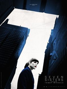Noomi Rapace in What Happened to Monday Recent Movies, New Movies, Movies Online, Good Movies, Film Seven, Noomi Rapace, Glenn Close, New Movie Posters, New Poster