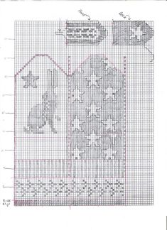 Ravelry: Bunny Mittens graph pattern by Tamsen Thistlehawk-Ranck. Nice pattern but too much 'white' space around the rabbit for good stranding. Needs some lice? Knitted Mittens Pattern, Knit Mittens, Mitten Gloves, Knitting Charts, Knitting Patterns Free, Baby Knitting, Fingerless Mittens, Chart Design, Fair Isle Knitting