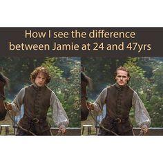 An older Jamie for #Outlander Season 3