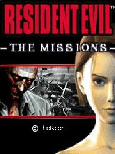 Juego JAR resident evil the missions para celular