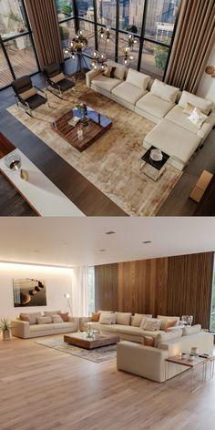 Elegant Living Room, Living Room Modern, Home Living Room, Living Room Decor, Modern Sofa, Modern Furniture Stores, Home Decor Furniture, Unique Home Decor, Home Decor Styles