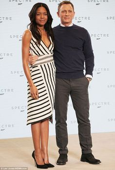 Naomie Harris didn't think she'd land James Bond Moneypenny role because of her age | Daily Mail Online