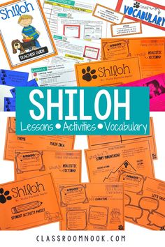 Get your complete printable and digital unit study for the popular novel Shiloh. This novel unit for Shiloh comes complete with a detailed teacher guide, lesson plans, anchor slides, student activities (printable and digital), a bulletin board set, response activities, and MORE. Perfect for 3rd grade, 4th grade, and 5th grade! A great resource for in-person or distance learning! Get this complete Shiloh novel study today to increase reading comprehension and reduce teacher prep time!