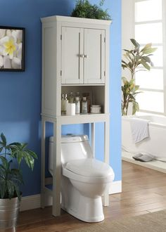 Have To Have It Nantucket DoorShelf Space Saver My - Wyndenhall hayes white bathroom space saver cabinet
