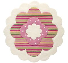 Esprit - Flower Shape Cream / Multi Rugs