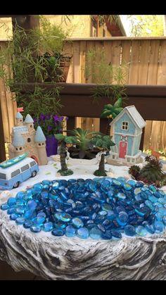 Beach Fairy Garden by Suzi Q from Winnipeg MB Canada